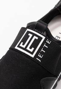 JETTE - Nazouvací boty - black - 2