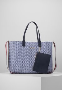Tommy Hilfiger - ICONIC TOTE MONOGRAM - Tote bag - blue - 3