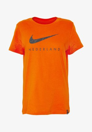 NIEDERLANDE KNVB TEE GROUND - National team wear - safety orange