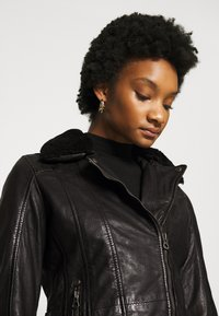 Gipsy - SALLIE - Leather jacket - black - 4