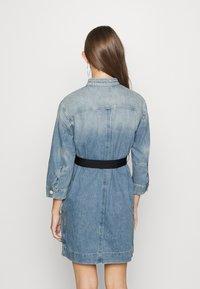 G-Star - SHIRT DRESS - Denim dress - vintage marine blue - 2