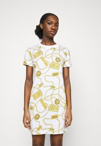 Versace Jeans Couture - DRESS - Jersey dress - white - 0