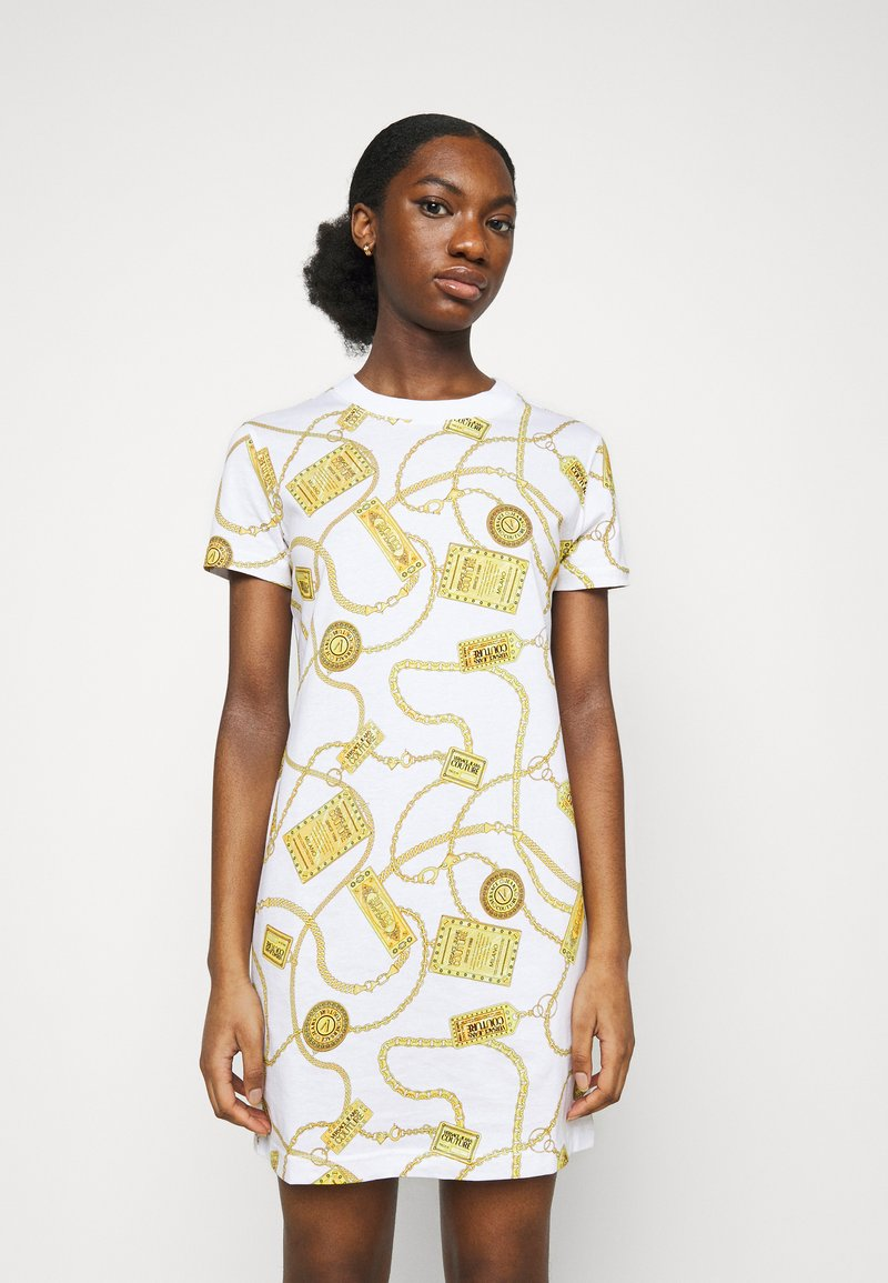 Versace Jeans Couture - DRESS - Jersey dress - white