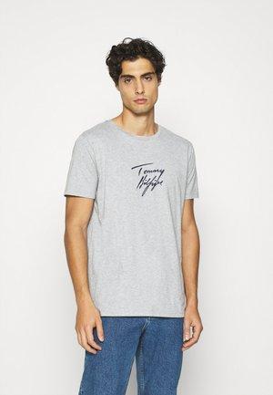 TEE LOGO - Pyjama top - grey