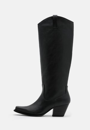 VEGAN ROXY BOOT - Cowboy/Biker boots - black