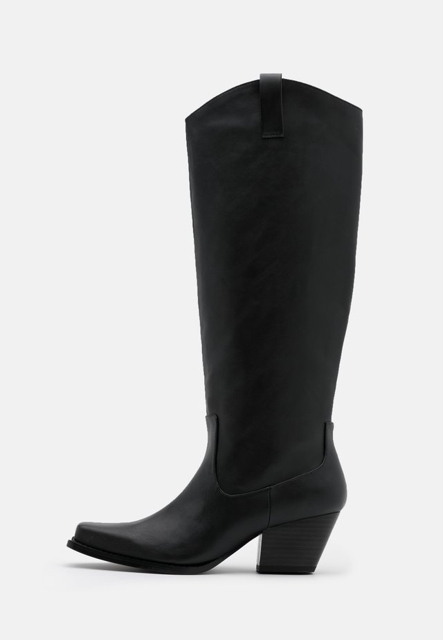 VEGAN ROXY BOOT - Cowboystøvler - black