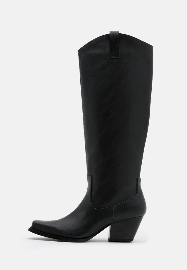 VEGAN ROXY BOOT - Stivali texani / biker - black