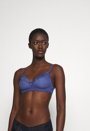 FIT SMART - Triangle bra - deep cobalt