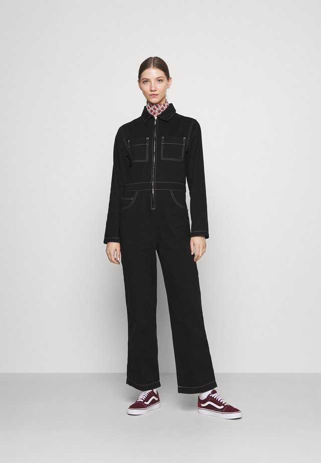 BOILERSUIT - Jumpsuit - black
