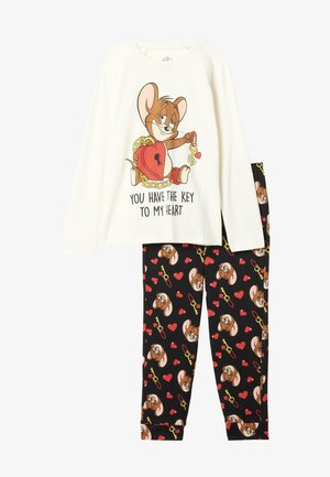 SET TOM & JERRY PRINT - Pyjama set - latte st.jerry in love