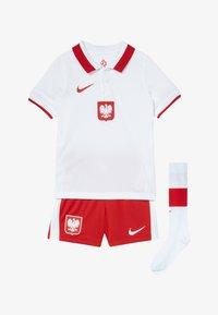 Nike Performance - POLEN LK NK BRT KIT HM SET - Club wear - white/red - 5