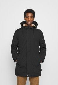 TOM TAILOR DENIM - SOFT  - Winter coat - black - 0