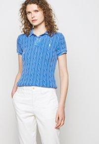 Polo Ralph Lauren - MODERN STRETCH - Trousers - deckwash white - 4