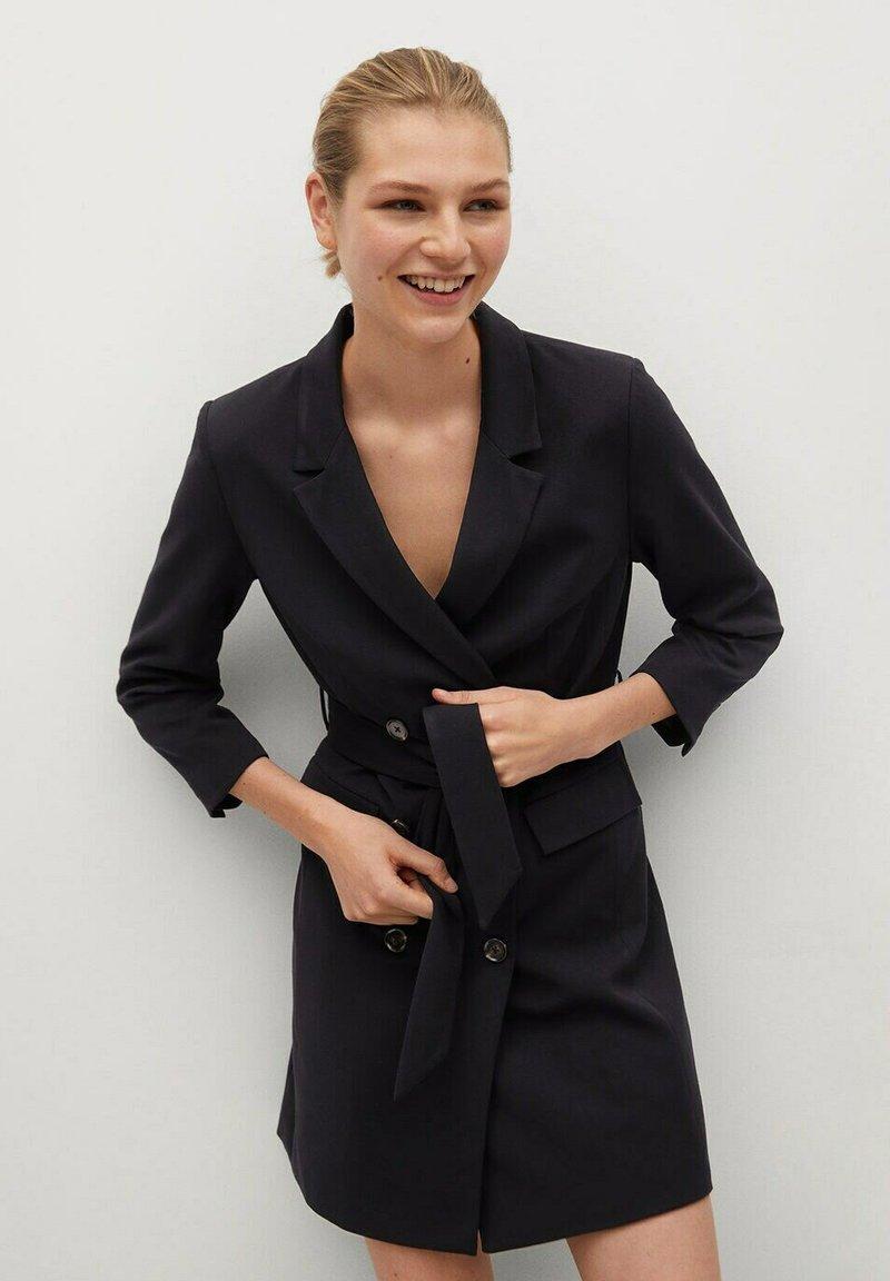 Mango - BLAKE1 - Košilové šaty - black