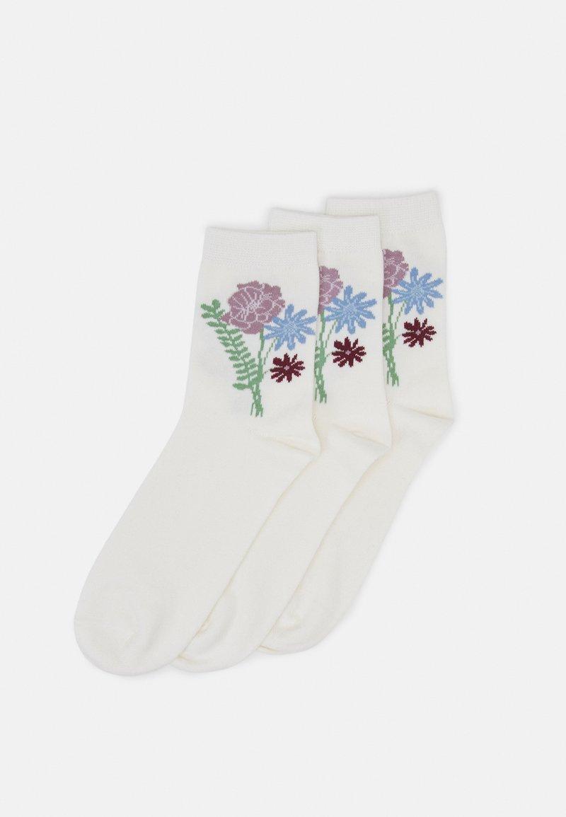 Monki - Socks - white dusty light