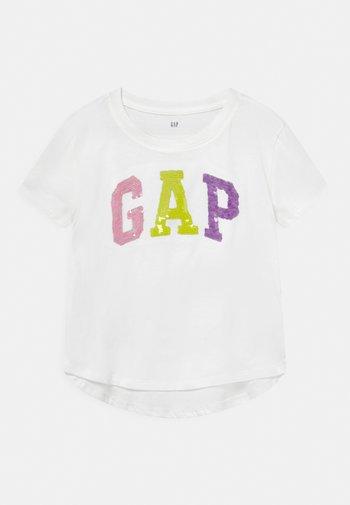 GIRL LOGO - Print T-shirt - new off white