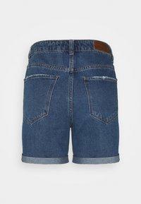 Vero Moda Tall - VMNINETEEN MIX - Shorts di jeans - medium blue denim - 1