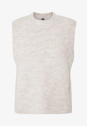 YASALLY  WAISTCOAT  - T-Shirt print - creme