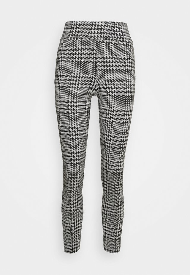 ONLZIGA  - Leggings - Trousers - black/cloud dancer