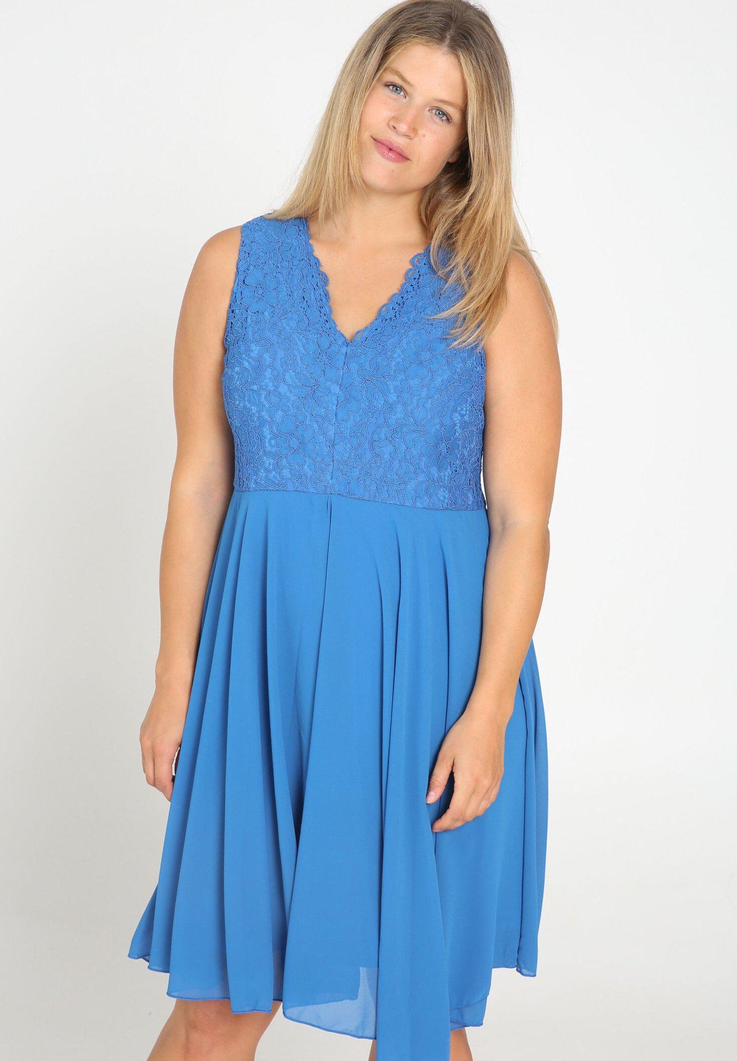 Damen Freizeitkleid - blue