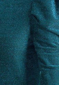 ONLY - ONLDARLING GLITTER PUFF - Topper langermet - black/bristol blue - 2