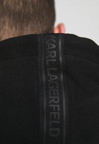 KARL LAGERFELD - HOODY JACKET - Zip-up hoodie - black - 7
