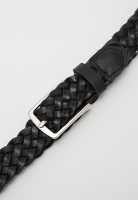 Jack & Jones - JACCOLE BRAIDED BELT - Belt - black - 2