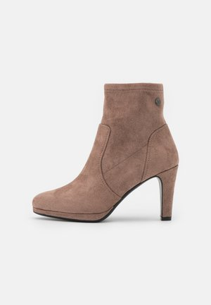 Classic ankle boots - taupe