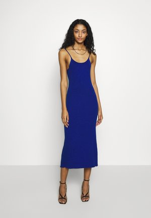 CASSIA DRESS - Strikkjoler - navy