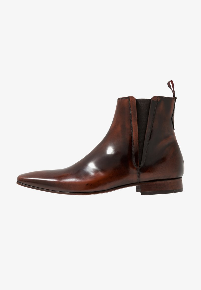 Jeffery West - ESCOBAR PLAIN CHELSEA - Classic ankle boots - college mid brown