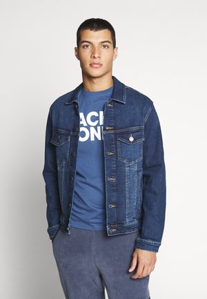 JJIALVIN - Denim jacket - blue denim