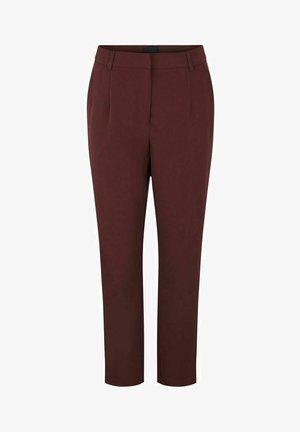 PCBOSSY - Trousers - red mahogany