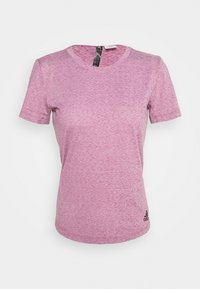 adidas Performance - TEE - Basic T-shirt - purple - 5