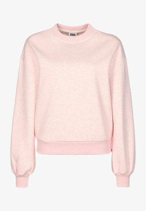 Sweatshirt - pink melange