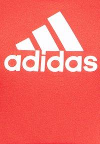 adidas Performance - ASK BRA - Medium support sports bra - crew red - 5