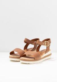 Tamaris - Platform sandals - nut - 2