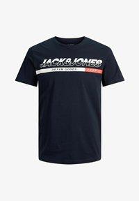 Jack & Jones - T-shirt med print - navy blazer - 5