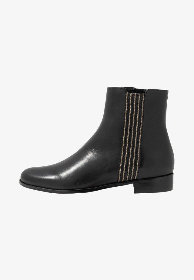 CHAIN PLAZA - Korte laarzen - black