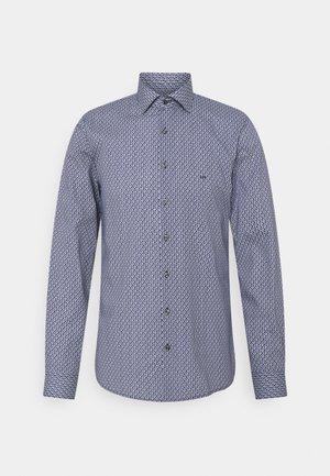 LOGO PRINT SLIM SHIRT - Shirt - navy