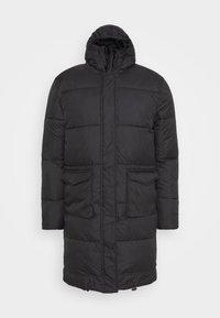 LONGLINE EXTREME JACKET UNISEX - Zimní kabát - black
