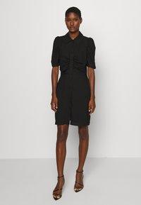 Pieszak - VENICE DRESS - Shirt dress - black - 0