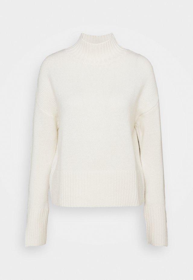 MOCKNECK - Sweter - pristine white