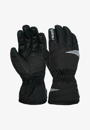 SNOW QUEEN - Gloves -  black/grey melange/silver