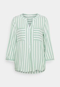 green/offwhite