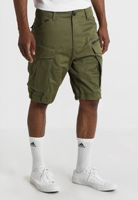 G-Star - ROVIC ZIP RELAXED - Short - sage - 0