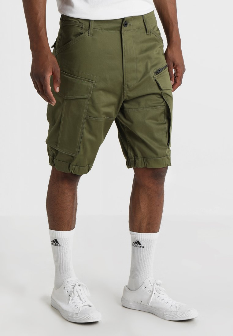 G-Star - ROVIC ZIP RELAXED - Shorts - sage