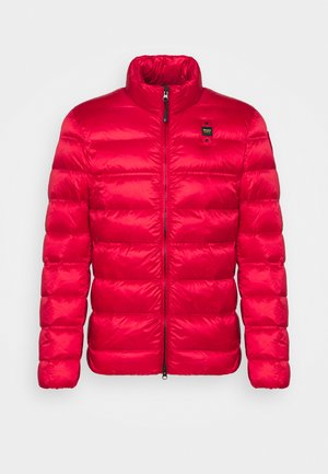 BASIC STAND UP COLLAR  - Down jacket - red