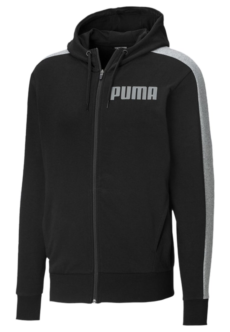 Puma - Sweatjacke - cotton black