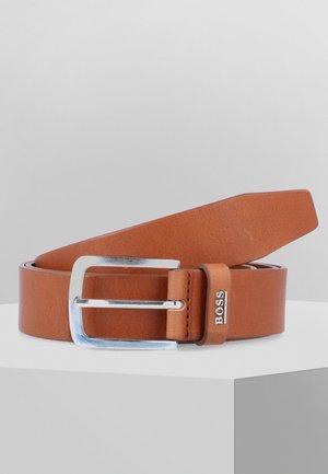 JOR LOGO - Belt - medium brown
