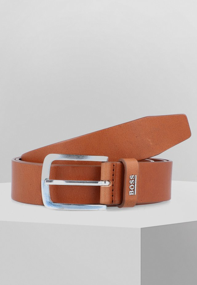 JOR LOGO - Gürtel - medium brown